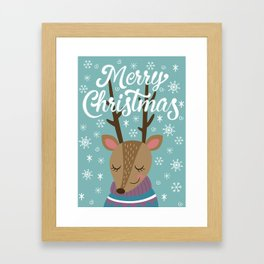 Merry xmass Framed Art Print