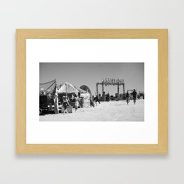A day in the wasteland Framed Art Print