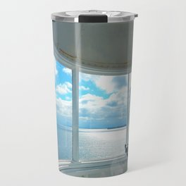 Souris Lighthouse View from the Top Travel Mug