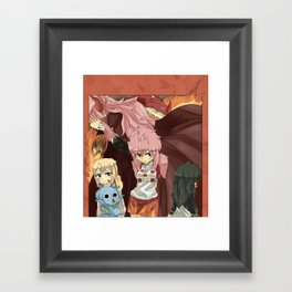 Fairy Tail Genderbend Doujinshi Cover. Framed Art Print