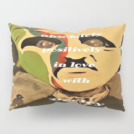 Poe, I am aboslutely, positively in love with Poetry Pillow Sham