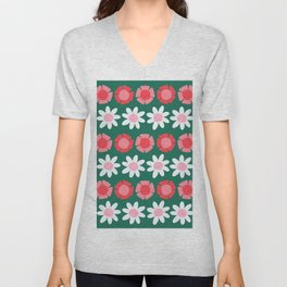 Peggy Green Unisex V-Neck