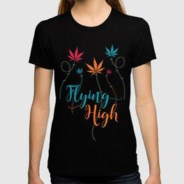Flying High on Cannabis T-shirt