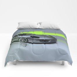Porsche 911 Digital Painting   Automotive   Car Comforters