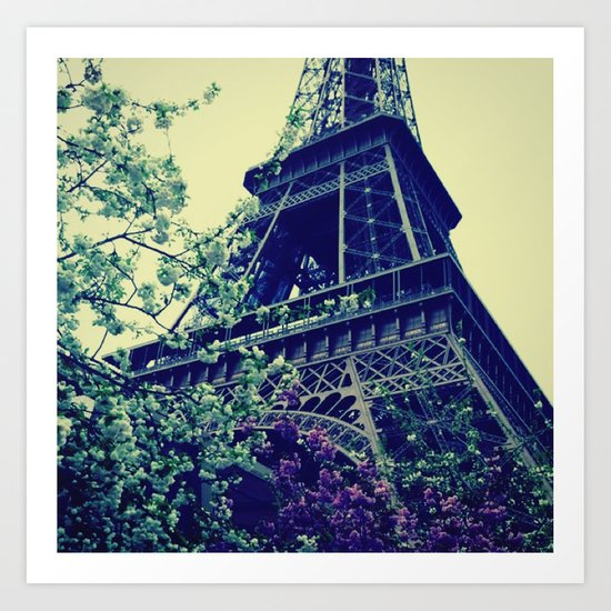 Paris, Paris Mon Amour! Art Print