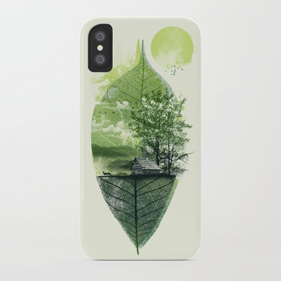 Live in Nature iPhone Case