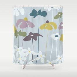 Maggiorie wild flowers Shower Curtain