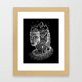 Secrets of Your Skull Framed Art Print
