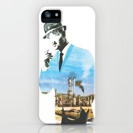 Mad men smokes iPhone Case