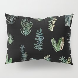 Green Nature at Night Pillow Sham