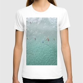 PEOPLE SURFING ON SEA WAVES DURING DAYTIME T-shirt