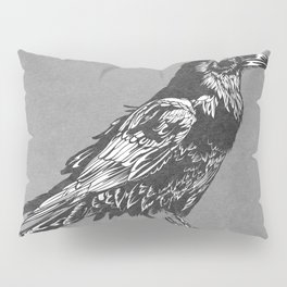 Raven Grey Pillow Sham