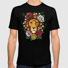 Psychedelic Trippy Lion T-shirt