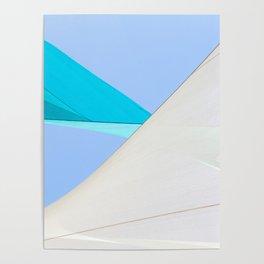 Abstract Sailcloth c1 Poster