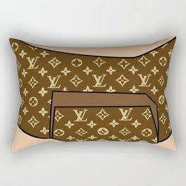LV diaper Rectangular Pillow