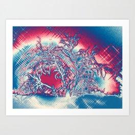 Desert Rising 1 Art Print