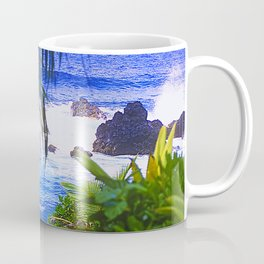 Secret Surf Location in Maui, Hawaii Coffee Mug