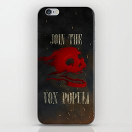 Join the Vox Populi! iPhone Skin