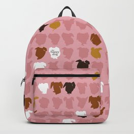 Bandit - pink pattern Backpack
