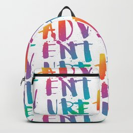 adventure - rainbow Backpack