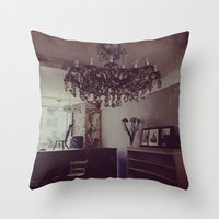 antique Throw Pillows featuring Antique by Jane Lacey Smith