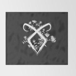 Angelic Rune Throw Blanket