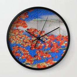 Yokoyama Taikan - MOMIJI - Top Quality Image Edition Wall Clock
