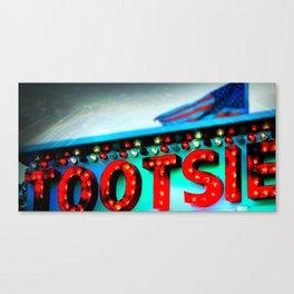Fair Tootsie Canvas Print