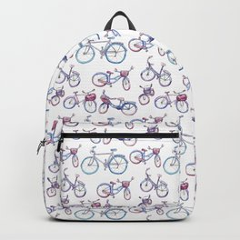 City bicycles Pattern Backpack
