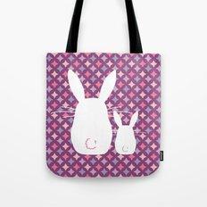 Bunny / Vintage pattern #3 Tote Bag