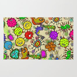 Doodle Germs Rug