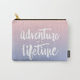 Adventure of a Lifetime - Serenity / Rose Quartz Carry-All Pouch