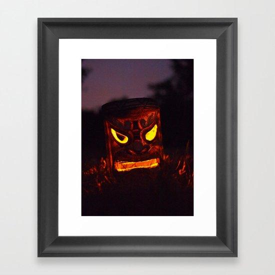 Autumn welcome Framed Art Print