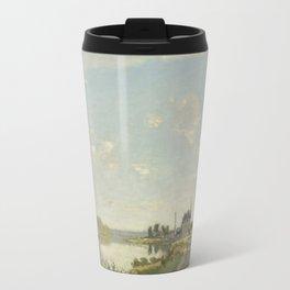 Claude Monet Argenteuil c. 1872 Painting Travel Mug