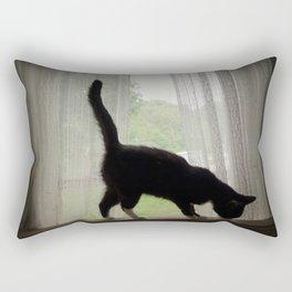 Curious Rectangular Pillow