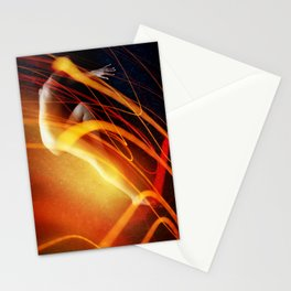 Cozmogonizm Series #32, Color Film, Analog, Art Photo, NUDE Stationery Cards