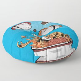 Sushi - Eat all you can Floor Pillow