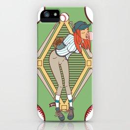 Köpke's Basegirl! iPhone Case