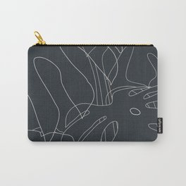 Monstera No2 Black Edition Carry-All Pouch