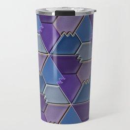 Blues & Purples Travel Mug