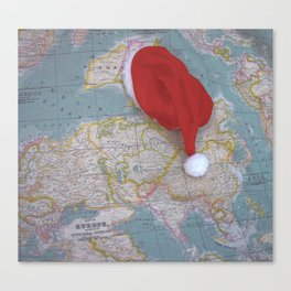 Christmas world Canvas Print