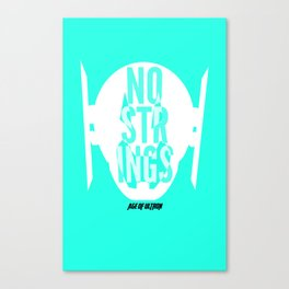 No Strings Ultron Canvas Print