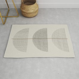 Geometric Composition III Rug