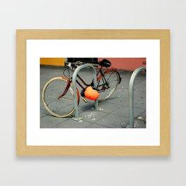 Inner City Schwinn Suburban Framed Art Print
