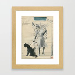 Apps this good, who's got time to make friends? Framed Art Print