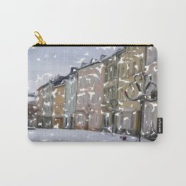 Snowy Day on Mainstreet4 Carry-All Pouch