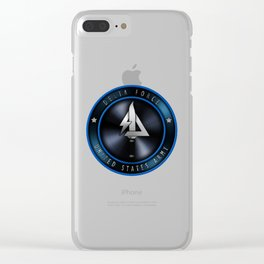 Task Force Delta Clear iPhone Case