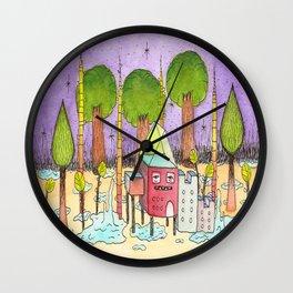 Dream House 2 Wall Clock