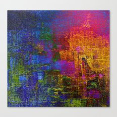 abstract tapestry Canvas Print