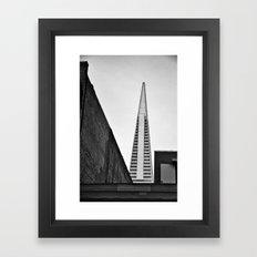 Geometric World Framed Art Print